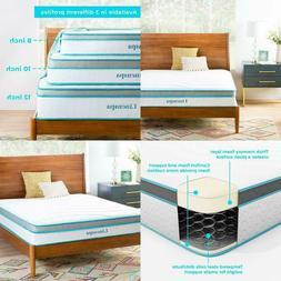 10 Inch Memory Foam and Innerspring Hybrid Mattress Medium F