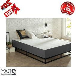 10 Inch Queen King Size Mattress Zinus Green Tea Memory Foam