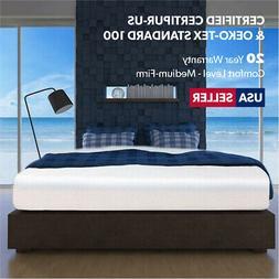 "12"" NEW PRIME Gel-Infused Memory Foam Mattress FULL Size Bed"