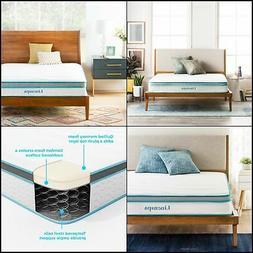 8 Inch Memory Foam and Innerspring Hybrid Mattress - Medium-
