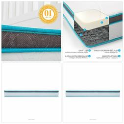 Linenspa 8 Inch Memory Foam and Innerspring Hybrid Mattress