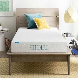 Memory Foam Mattress 8 Inches Dual Layered Gel Bed Bedframe