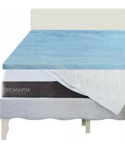 Advance Sleep Solutions 3 Inch Gel Memory Foam Mattress Topp