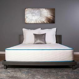 "Dreamfoam Bedding Arctic Dreams 10"" Cooling Gel Mattress TWI"