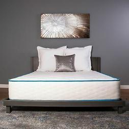 "Dreamfoam Bedding Arctic Dreams 10"" Hybrid Cooling Gel Mattr"