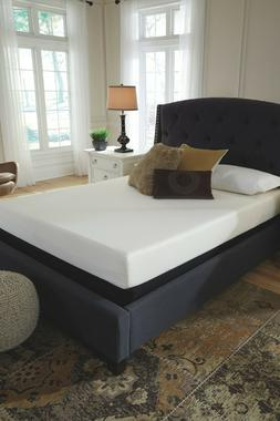 Signature Design by Ashley Chime 8 in Full Memory Foam Bed i