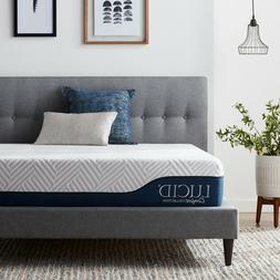 """LUCID® Comfort Collection™ 10 & 12""""  Gel & Aloe Vera Memo"""