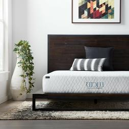 LUCID Comfort Collection 10 inch Gel Memory Foam Mattress -