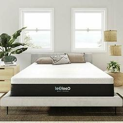 """Modern Sleep Cool Gel 12"""" Ventilated Gel Memory Foam Mattres"""