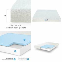 Classic Brands Cool Gel Ventilated Gel Memory Foam 8-Inch Ma