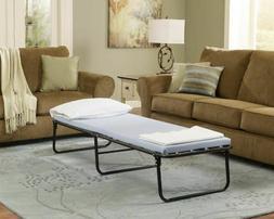 Folding Guest Bed Memory Foam Mattress Foldaway Portable Cot