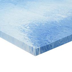 Sleep Innovations 2.5-inch Gel Memory Foam Mattress Topper w