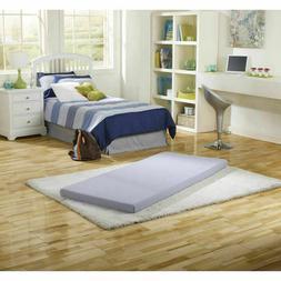 Instant Bed Twin Mattress Memory Foam Comfort Guest Roll-Up
