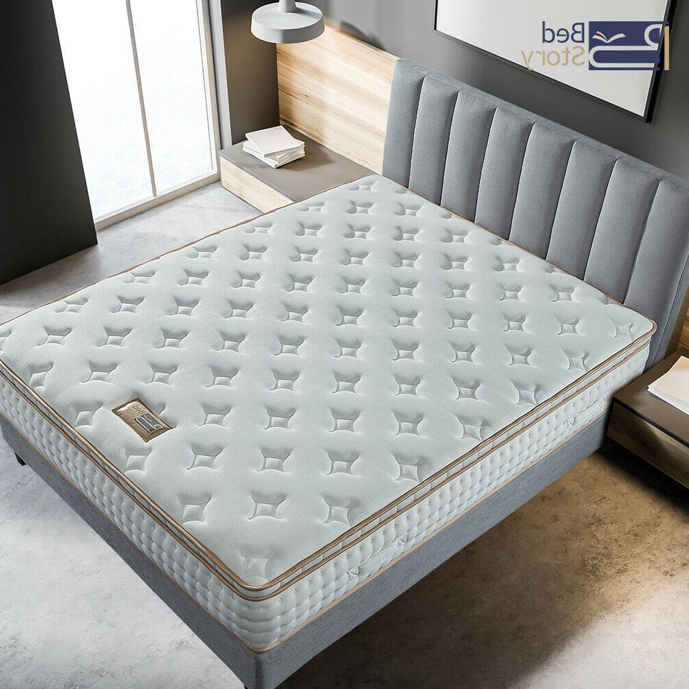 BedStory 10 Gel Foam Hybrid Mattress Twin