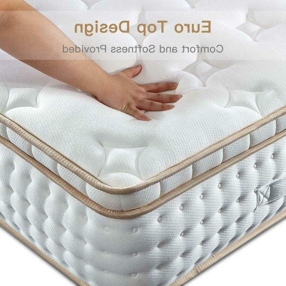 10 12 inch gel infused memory foam