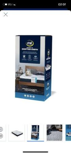 Serta 10-in Queen Hybrid Mattress