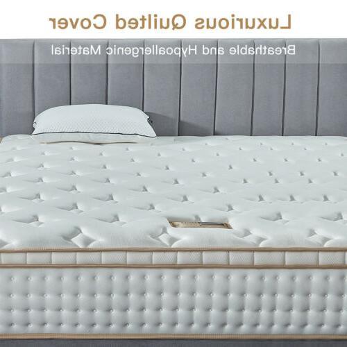 BedStory Inch Gel Infused Memory Foam Mattress King US