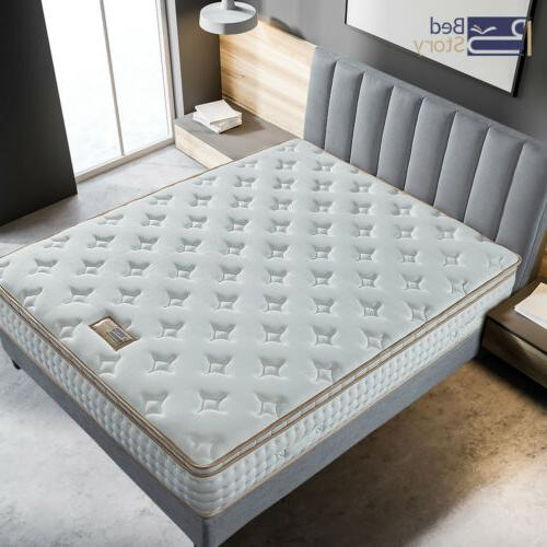 BedStory Inch Gel Infused Mattress Twin Full King
