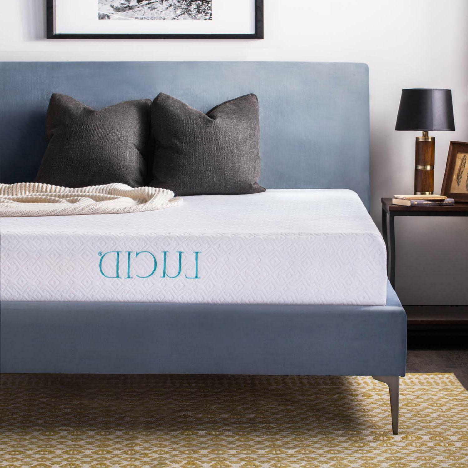 10 inch gel memory foam mattress medium