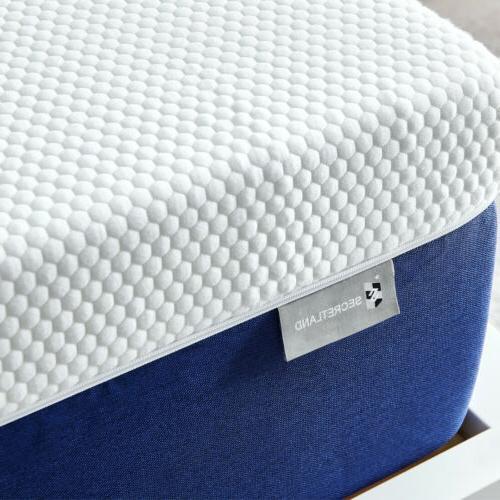 10 inch queen size memory foam mattress