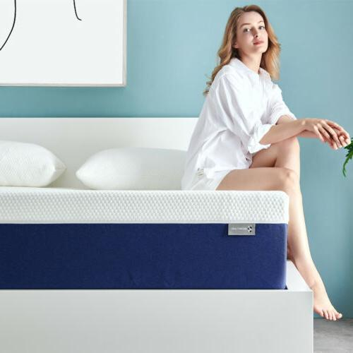 6 king size memory foam bed mattress
