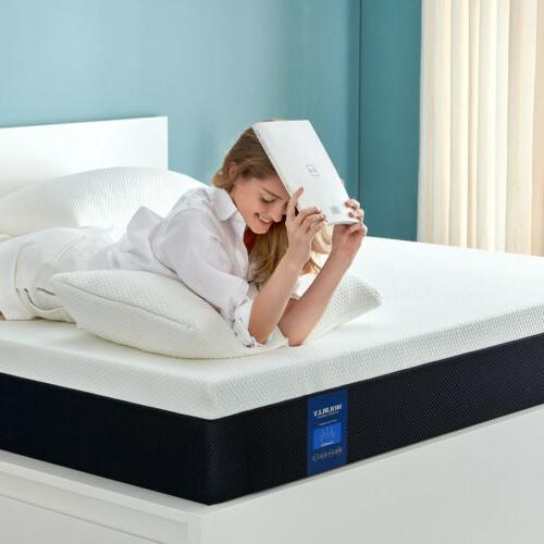 10 Queen Size Memory Foam More Breathable