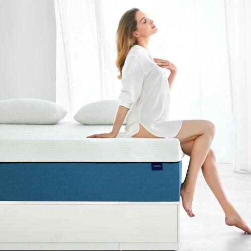 10 Inch Queen Size Memory Foam Mattress More Breathable Bed