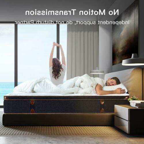BedStory Inch Gel Infused Foam Hybrid Mattress Twin King