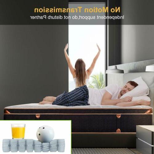 BedStory 10&12 Gel Infused Memory Foam Mattress Coils