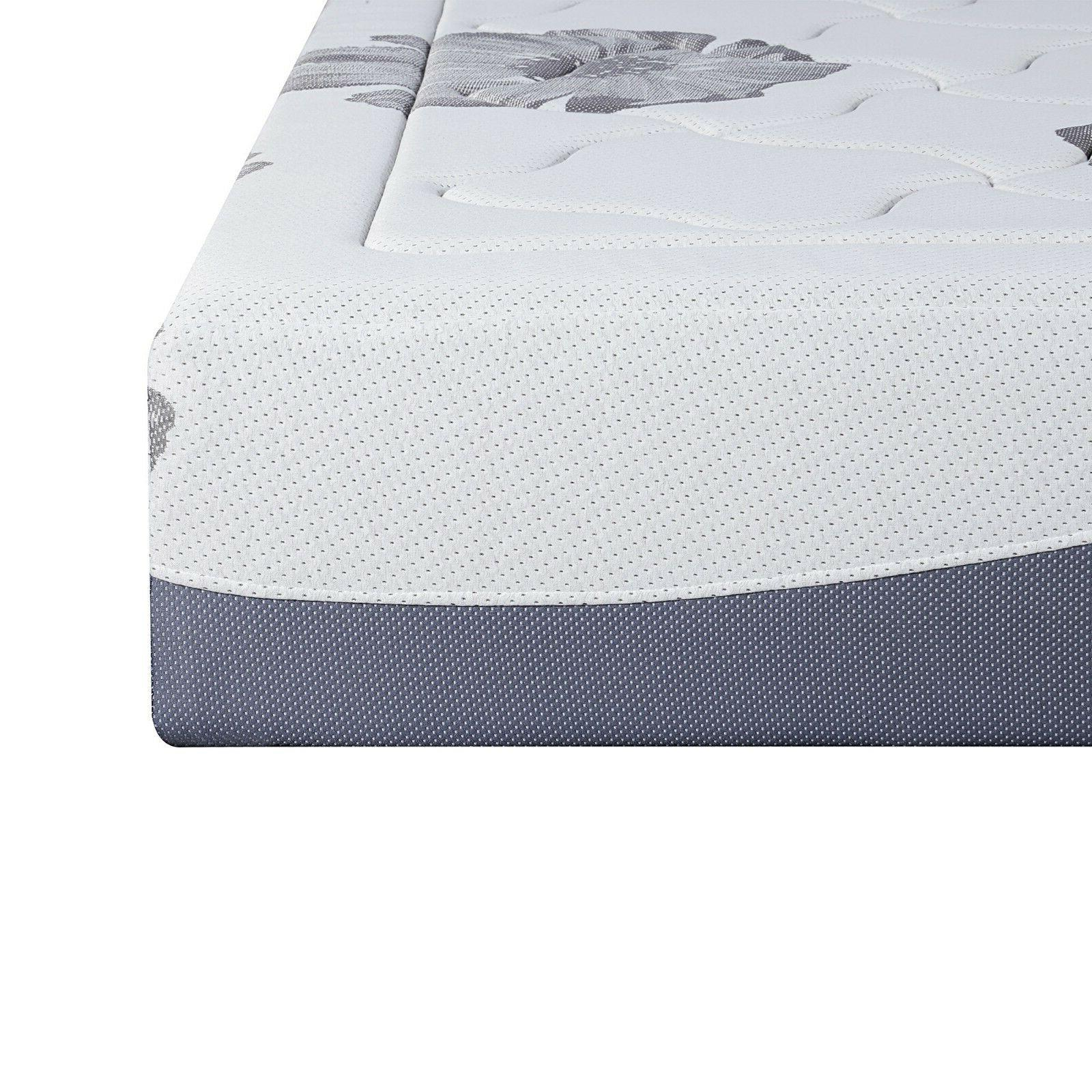 SLEEPLACE Inch Gel Air Flow Foam Mattress, Bedroom, Bed