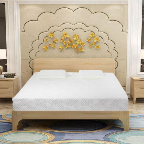 Hot COOL MEDIUM-FIRM Foam Mattress Bed with 2 Free Pillows