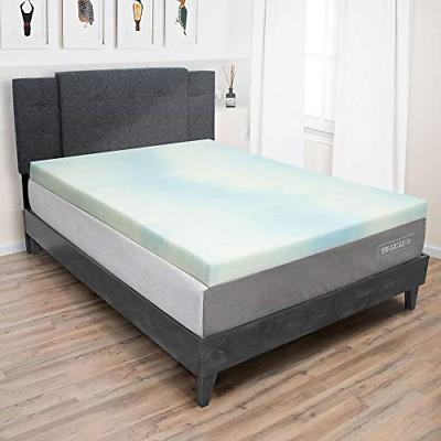 Eluxurysupply 3 Inch Memory Foam Mattress Topper