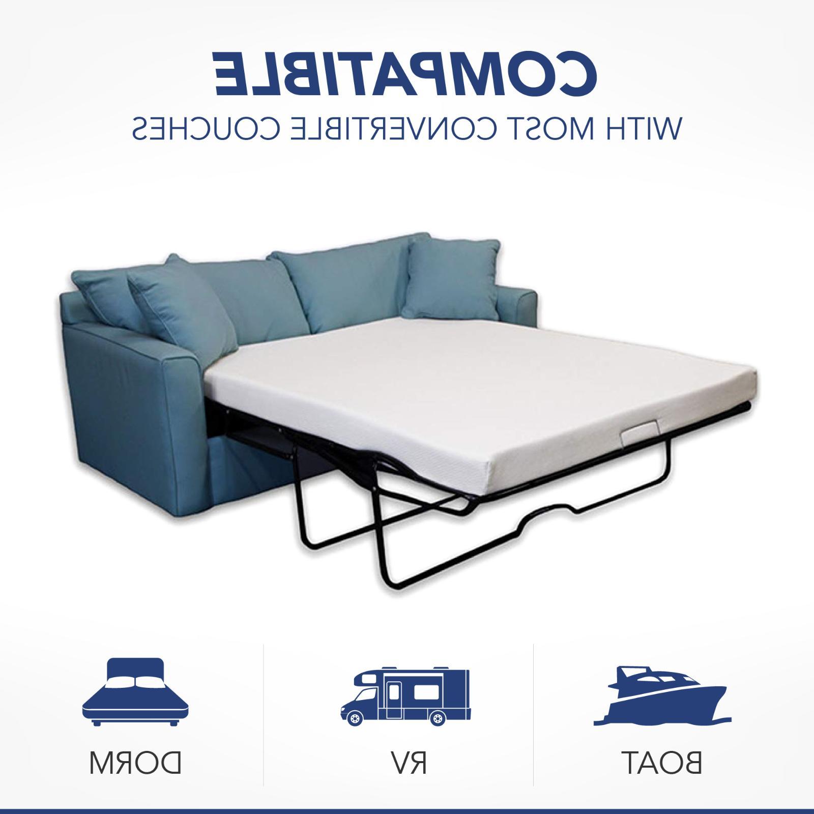 4 5 inch gel memory foam sofa