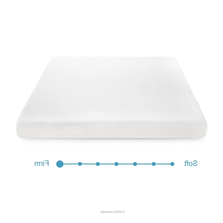 Linenspa 5 inch Gel Memory Foam Medium Firm - Great Mattress