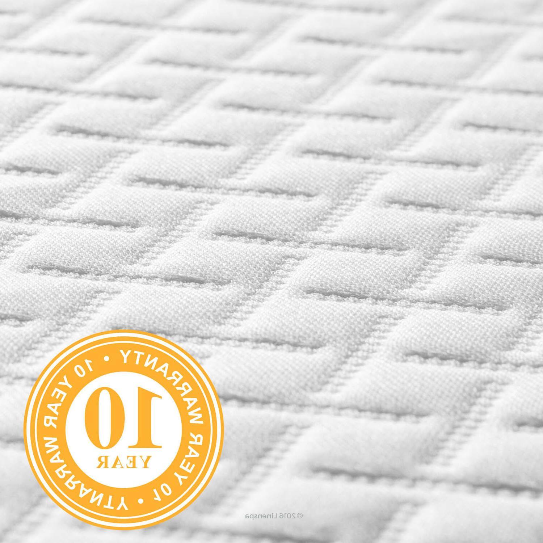 Linenspa 5 inch Gel Memory Medium Firm Mattress for