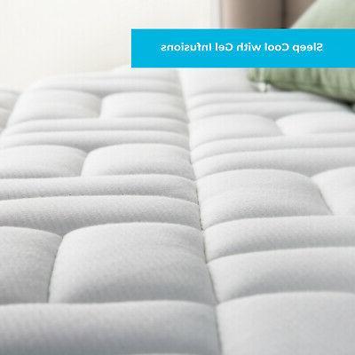 8 Inch Gel Foam Hybrid Full