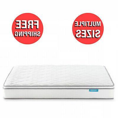 8 inch gel memory foam hybrid mattress