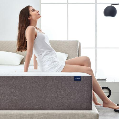 10 Inch Queen Size Memory Foam Mattress With More Pressure R