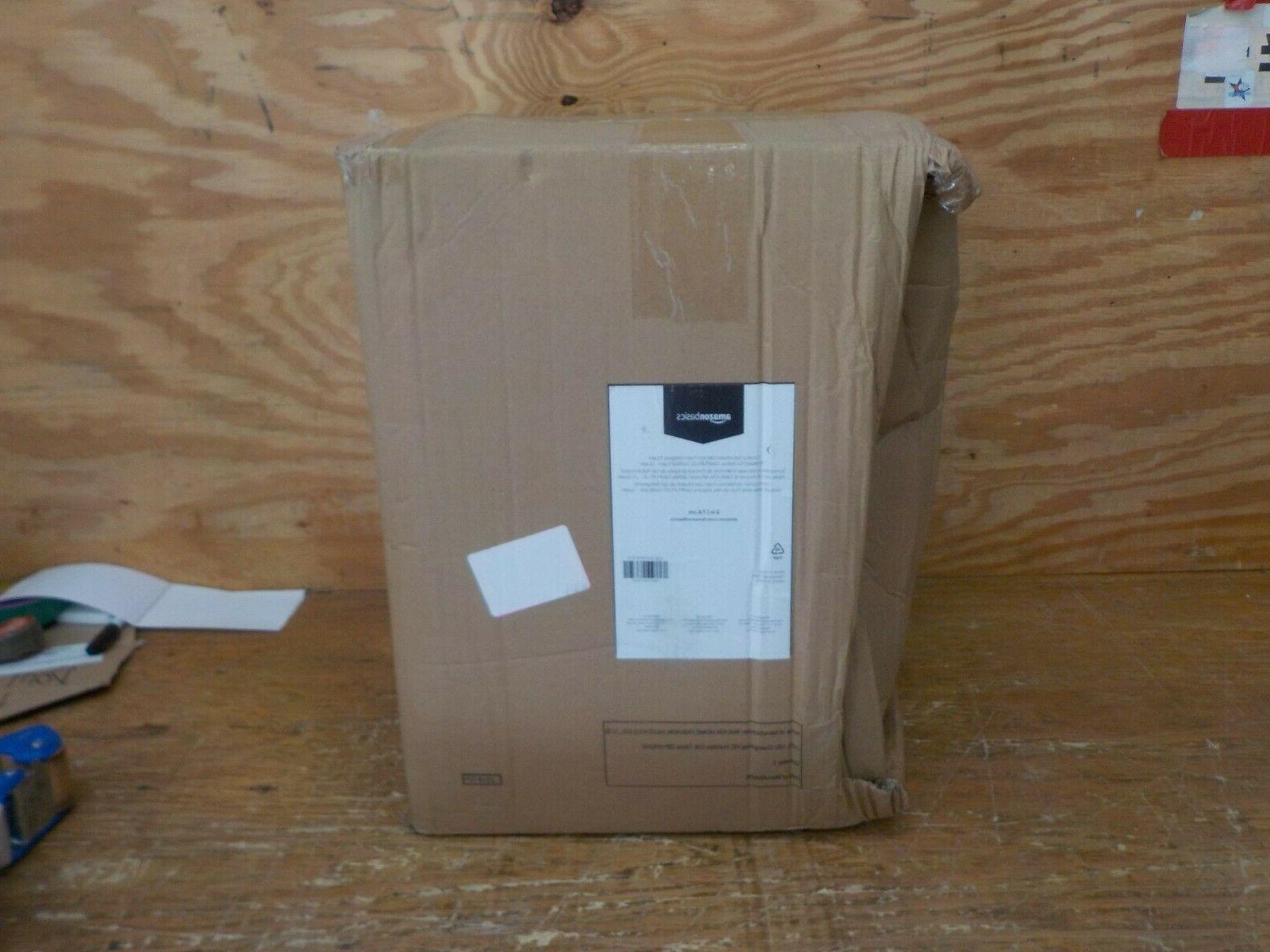 AmazonBasics Gel-Infused Foam Mattress Topper - Ventilated, Certi