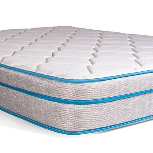 "Dreamfoam Bedding Doze 9"" Eurotop Comfort,"