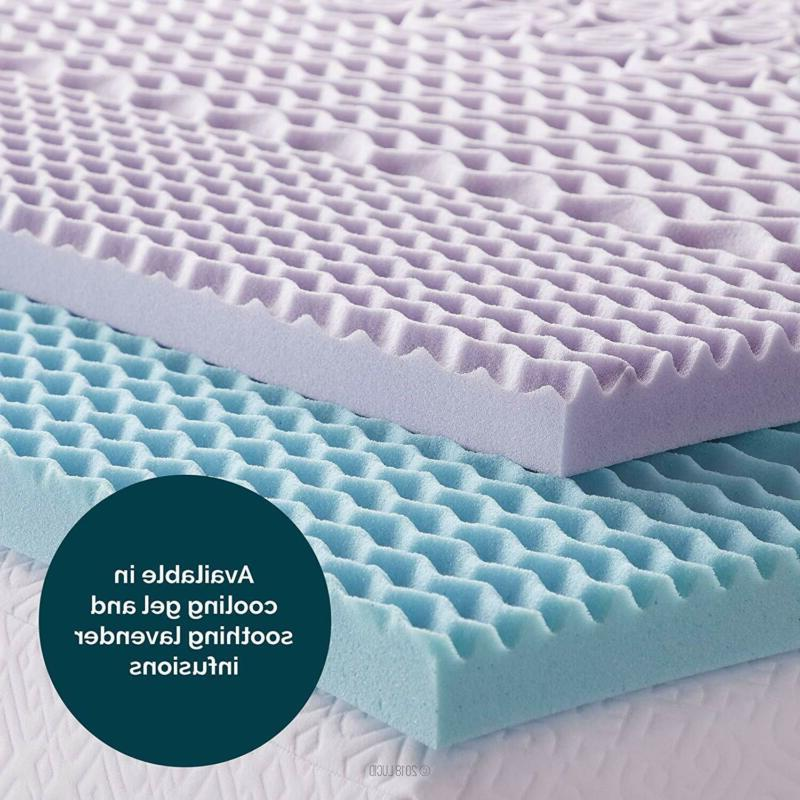 Gel Foam Mattress Cooling Topper