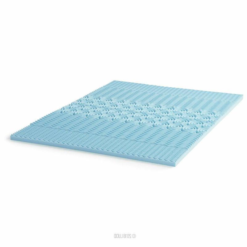 Gel Memory Foam Cooling Topper Duty