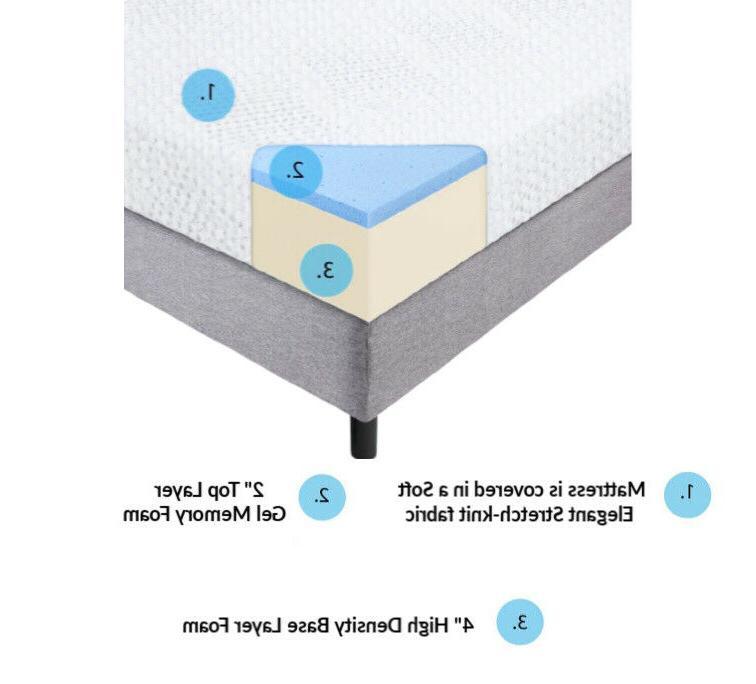 Handcrafted in USA, Cool Foam Mattress, Medium/Firm Feel