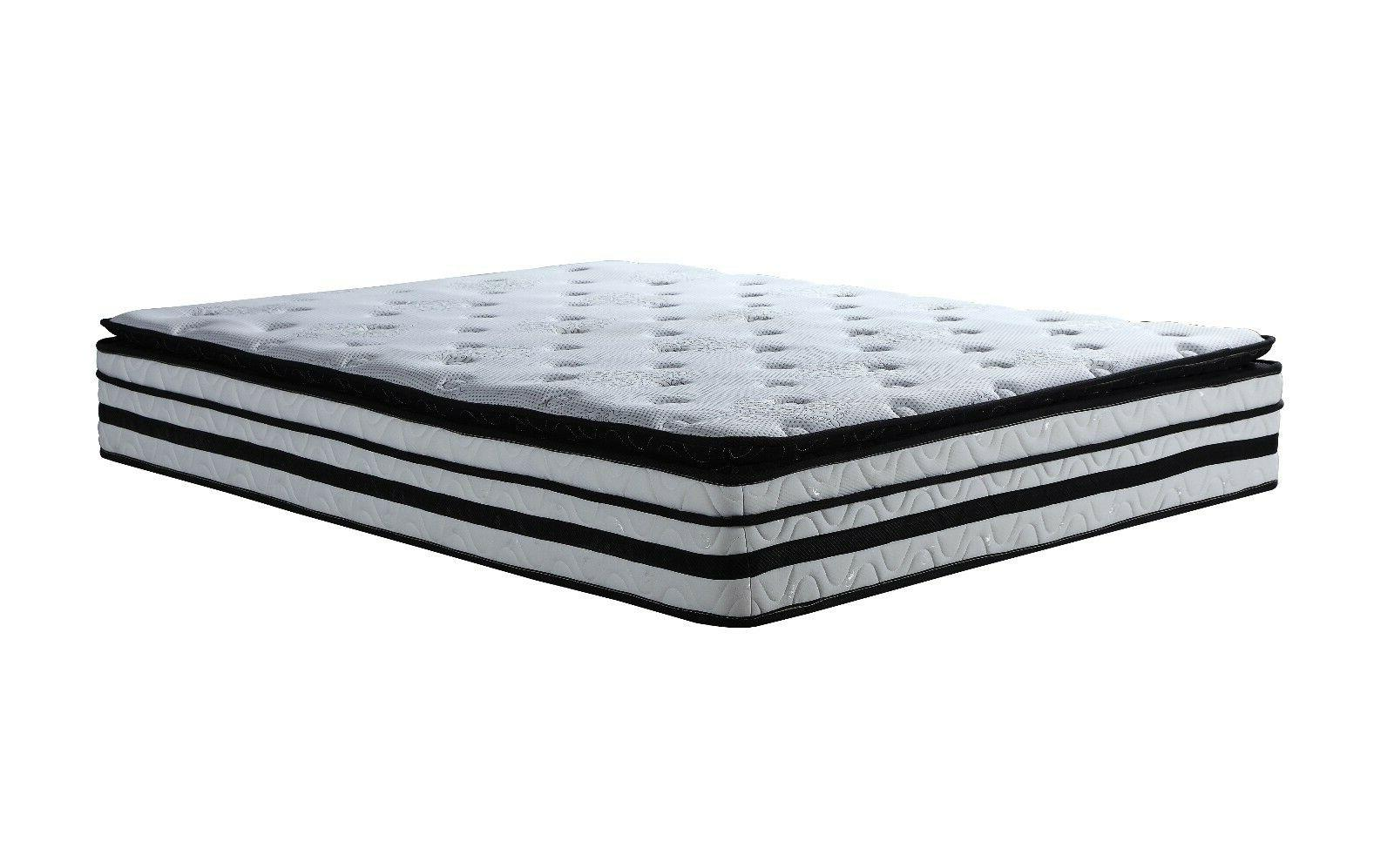 and Memory Mattress with Pillow - Queen Size