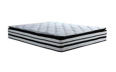hybrid innerspring memory foam mattress