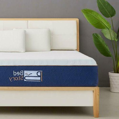BedStory Gel Memory Foam Mattress FULL QUEEN KING CK New