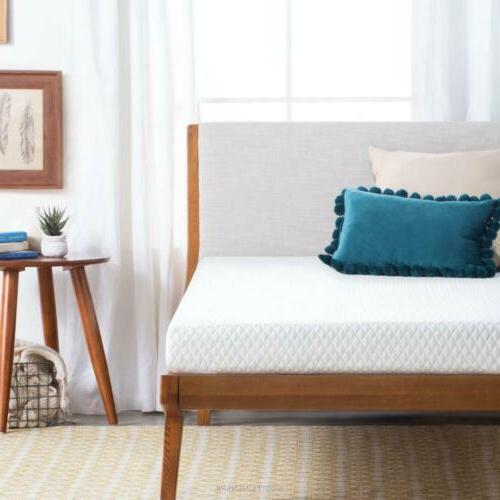 linenspa 5 inch gel memory foam mattress