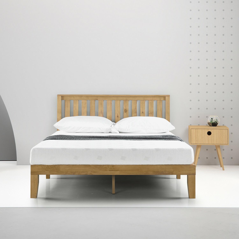 Memory Foam Comfort Mattress 6 Inch Queen Size Bed Bedroom F