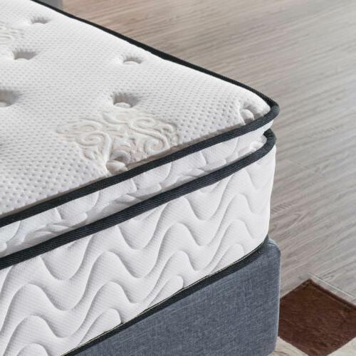Memory Foam Bed in 10.5 Inch Mattress