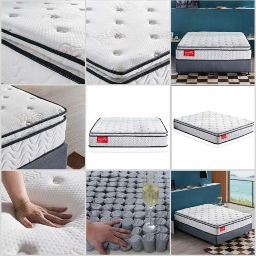 Memory Mattress Bed Box 10.5 Inch Innerspring Mattress